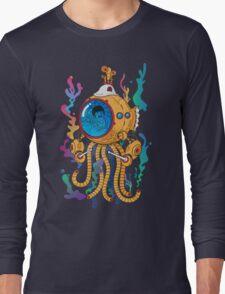 Octopod yellow Garden  Long Sleeve T-Shirt