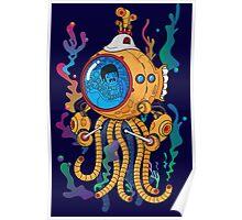 Octopod yellow Garden  Poster