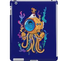 Octopod yellow Garden  iPad Case/Skin