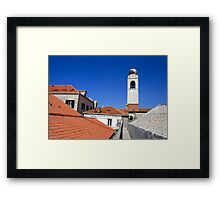 Croatia, Dubrovnik, the Walled Old City Framed Print