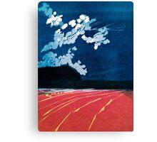 Night Falling Canvas Print