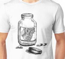 Heart in a Jar  Unisex T-Shirt