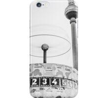 Urania world clock and Berlin TV Tower iPhone Case/Skin