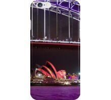 Purple Water/Splashed Colour Sail iPhone Case/Skin