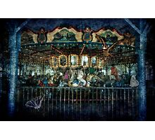 Captive on a Carousel of Time Photographic Print