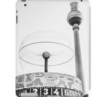 Urania world clock and Berlin TV Tower iPad Case/Skin