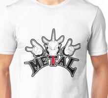 Metal Unicorn Unisex T-Shirt
