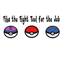 Pika the Right Tool for the Job Photographic Print