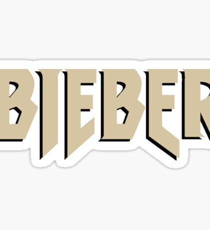 Bieber (PurposeTour Style) Sticker