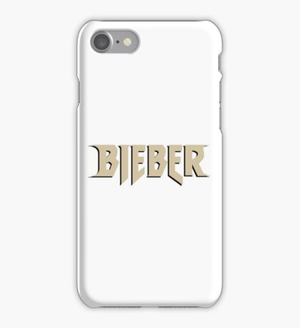 Bieber (PurposeTour Style) iPhone Case/Skin