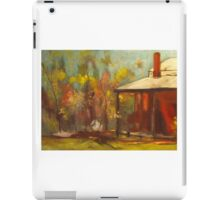 The old homestead at Armstead Winery at Knowsley VIC iPad Case/Skin