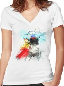 Student Council President Women's Fitted V-Neck T-Shirt
