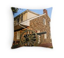Lee's Headquarters - Gettysburg Pa. Throw Pillow