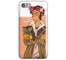 When bae gives you flower ! iPhone Case/Skin