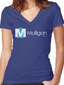 MULLIGAN 2016 Women's Fitted V-Neck T-Shirt