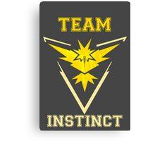 Team Instinct Canvas Print
