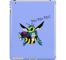 pew pew pew BEE! iPad Case/Skin