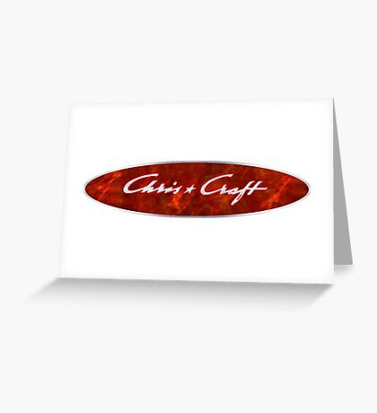 Chris Craft Vintage boats Greeting Card