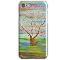 Abstract Trees Painting iPhone Case/Skin