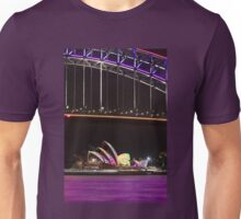Purple Harbour, coloured sails Unisex T-Shirt