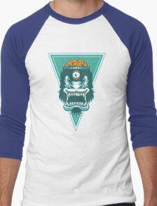 Irradiated Gorilla No. 2 Men's Baseball ¾ T-Shirt