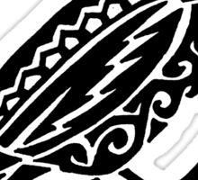 Song Bird Tribal Design  Sticker