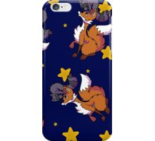 Fox and Raccoon friends iPhone Case/Skin