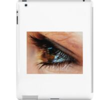 lashes. iPad Case/Skin