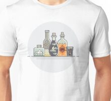Things and bottles Unisex T-Shirt