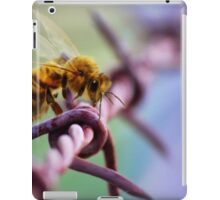 Barb Wire Bee iPad Case/Skin