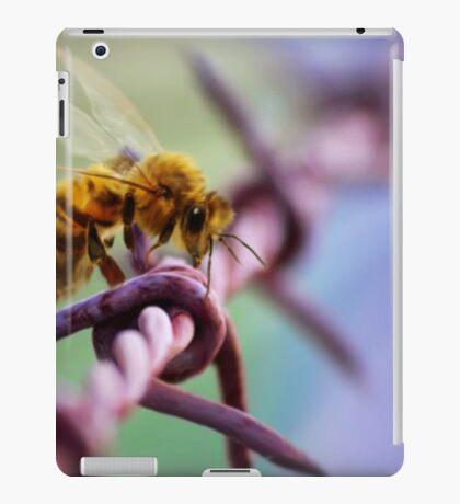 Barb Wire Bee iPad Case/Skin