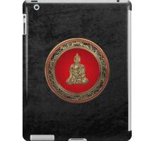 Treasure Trove - Gold Buddha on Black Velvet  iPad Case/Skin