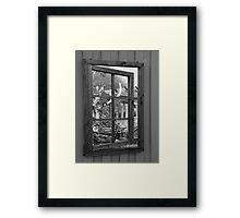 mirror mirror. Framed Print