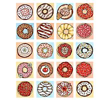 Doughnut Collection Photographic Print