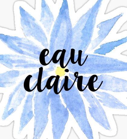 University of Wisconsin Eau Claire Sticker