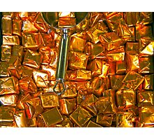 Golden Candy Photographic Print
