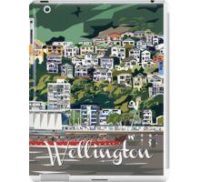 Wellington Harbour by Ira Mitchell-Kirk iPad Case/Skin