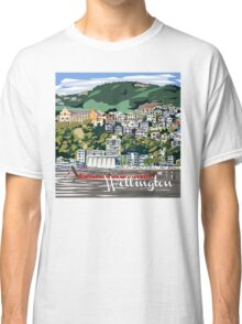 Wellington Harbour by Ira Mitchell-Kirk Classic T-Shirt