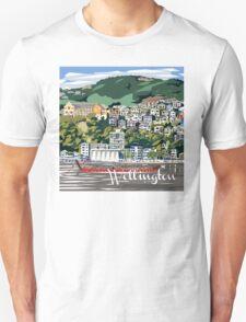 Wellington Harbour by Ira Mitchell-Kirk Unisex T-Shirt