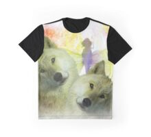FOR THE LOVE OF WOLVES Graphic T-Shirt