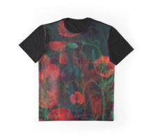Ghost Poppies  Graphic T-Shirt