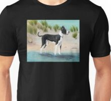 Great Dane Dog Beach Dunes Cathy Peek Unisex T-Shirt