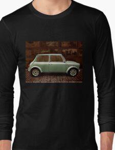 Austin Mini Cooper Mixed Media Long Sleeve T-Shirt