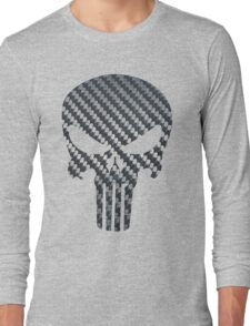 Punisher Carbon Fiber Long Sleeve T-Shirt
