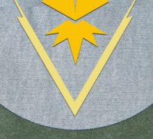 Team Instinct Symbol of Pride -  Sticker