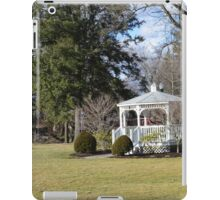 White Gazebo, Grove City College iPad Case/Skin