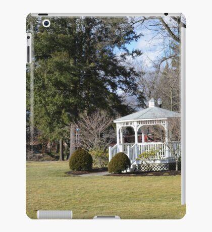 White Gazebo, Grove City College iPad Case/Skin