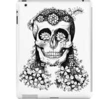 Floral Skull - Decay iPad Case/Skin