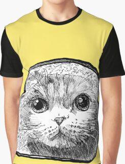 Bread Cat Graphic T-Shirt