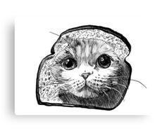 Bread Cat Canvas Print